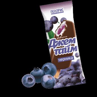 Джемтайм эскимо ванильное с черничным джемом в шоколадной глазури