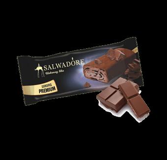 эскимо шоколадное с шоколадным топингом в молочном шоколаде