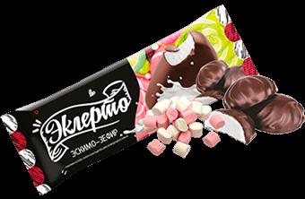 эскимо ванильное суфле в шоколадной глазури