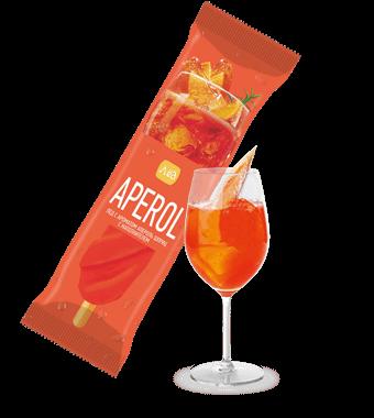 Лёд винт со вкусом Апероль Шприц с наполнителем Апероль Шприц
