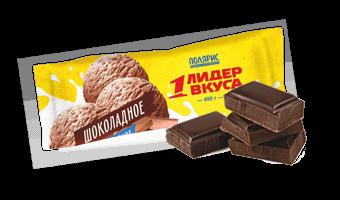 Лидер вкуса шоколадное мороженое